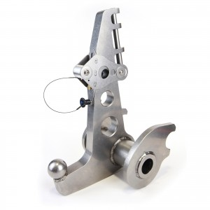 Falcon 7X Nose Gear Jack Adapter
