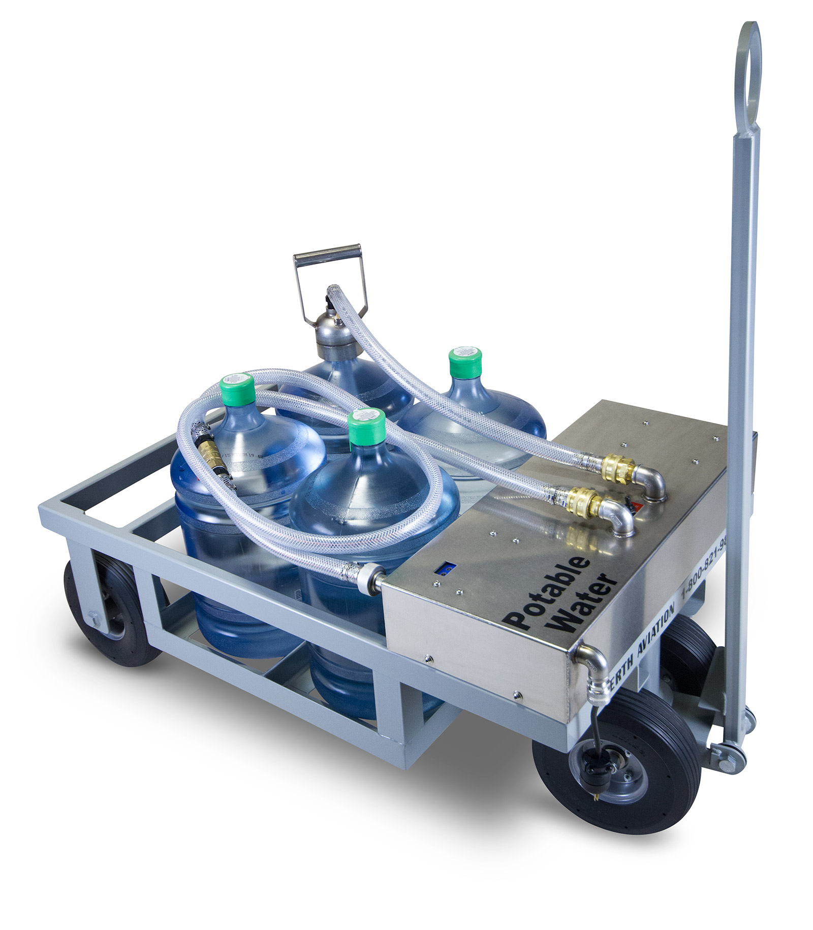 Potable Bottled Water Cart